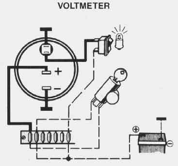 volt gauge wiring diagram picture volt gauge wiring diagram farmall h vdo guages i bought don't work ? | the h.a.m.b. #7